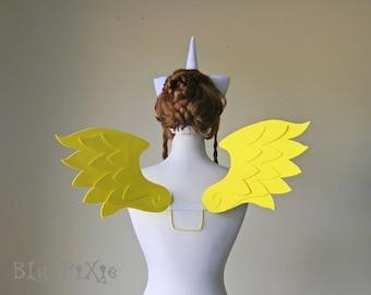 My Little Pony Cosplay Wings, Fluttershy Twilight Sparkle Rainbow Dash, Pegasus Kids Adult Halloween Costume Accessories