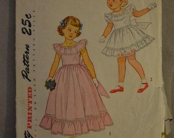 Simplicity 2868 (vintage girl's dress pattern)