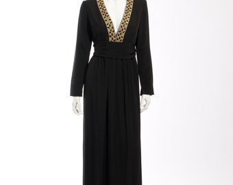 1960s Saks 5th Avenue Evening Gown