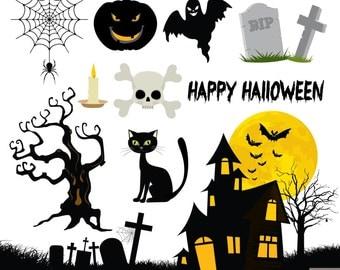Halloween Digital Clipart
