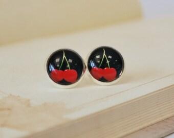Black Cherries Earrings