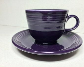 Vintage Fiesta Cup & Saucer