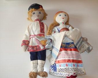 POLAND BOY and GIRL Dolls