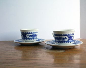 Vintage Pair of Tea-cup's & Saucers