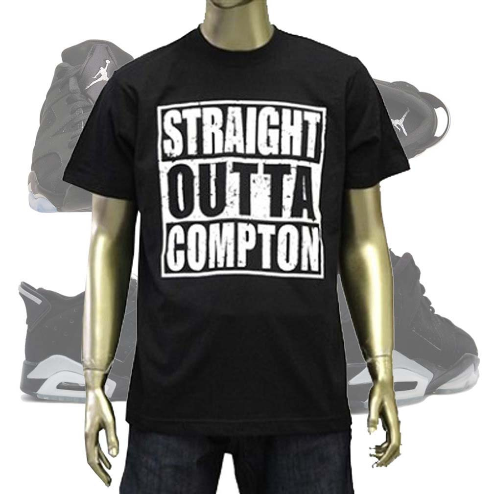 Straight Outta Compton T Shirts Retro Rap by ...