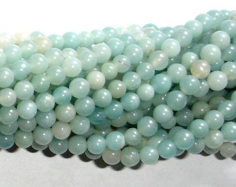 Amazonite Beads, Round, 4mm, 15.5 Inch, Full strand, Approx 100 beads, Full strand, Hole 0.8mm (111054025)