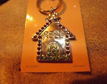 New in Package Old Stock Fetching Keychain Dogs Rule