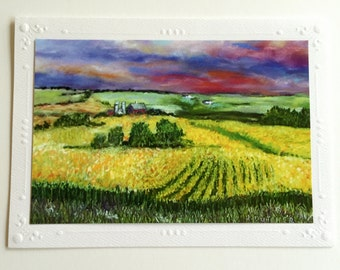 Iowa Note Cards (Package of 5)