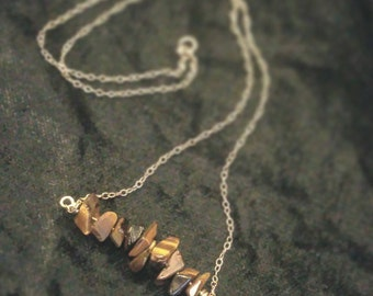 Gemstone Linear Necklace