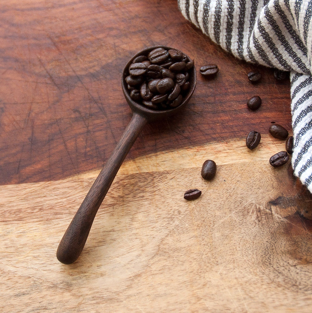 Hand Carved Walnut Spoon Handmade Spoon By Pennandknife On