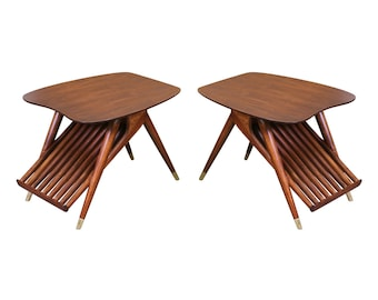 Mid Century Magazine Side Tables by Ace-Hi