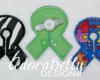 Awareness Ribbon Cause G tube Covers Gtube Pads Tubie