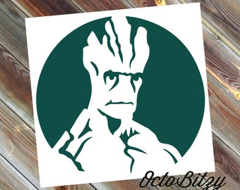 Groot, Guardians of the Galaxy Vinyl Decal Sticker