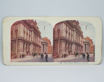 Post Office Building, c1900  Montreal , Quebec,