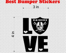 Unique raiders decal related items | Etsy