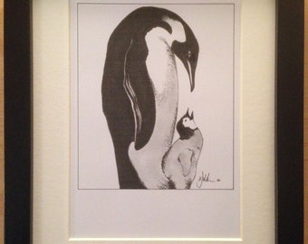 Penguins - DIGITAL PRINT