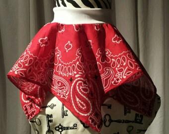 Mini bandana skirt