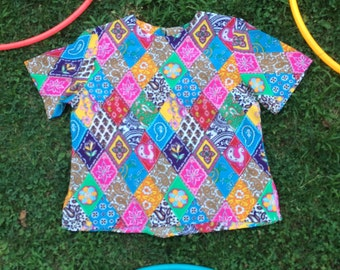 Psychedelic Flow Top SIZE SMALL/MEDIUM