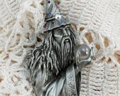 Vintage Wizard Brooch by J.J.