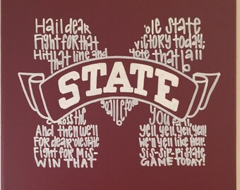 Mississippi State Fight Song