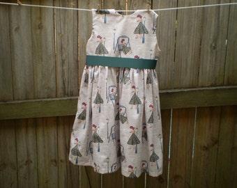 Girls Vintage dress,   size 4 years , Clothing for girls, girls dress