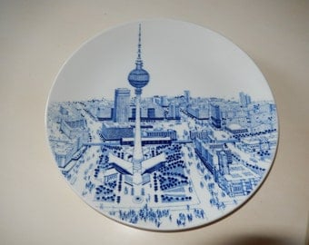 GERMANY MEISSEN PLATE Wall Hanging