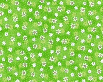 Crafty Cottons - Lime Green EESCRC2076-LG