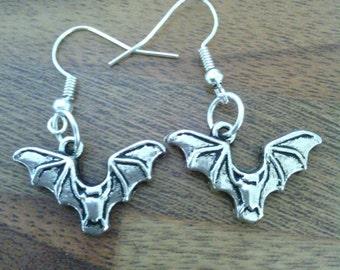 Vampire/ Bat earrings