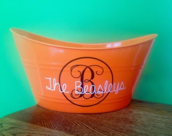 Halloween Candy Bucket Decal