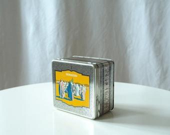 Antique Metal Box - Arabian Motive Vintage Cigarette Box