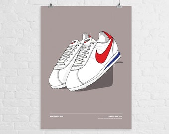 Nike Cortez Dibujos