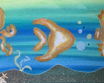 Sea Creatures and Sand