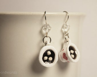 Hot Chocolate With Marshmallows Earrings