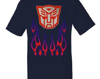Mens Optimus Prime Transformers T-Shirt