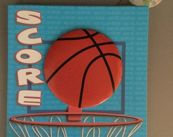 Basketball Scrapbook Album