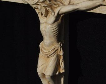 Beautiful Plaster Crucifix
