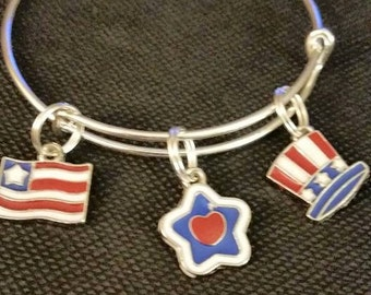 USA Bangle Bracelets