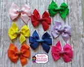 Crayon Hair Bows, Back to School Hair Bows, School Hair Bows, Crayola Hair Bows, School Bows, Small Crayons Hair Bows.