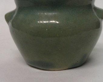 Dutchess Cheese Jar New York Vintage Pottery