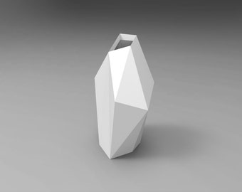 Free Model Of Vase - Diy - Papercraft Template For Starters