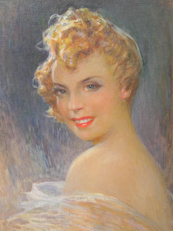 Vintage Paintings Of Women Vintage Woman P...