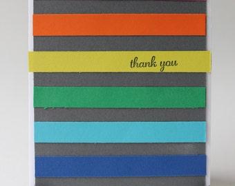 Handmade Greeting Card Thank You