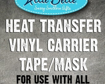 how to use transfer tape with glitter vinyl