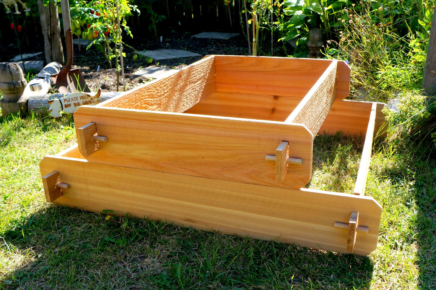 Raised Garden Bed Kit Elevated Planter Box Tiered Garden Bed