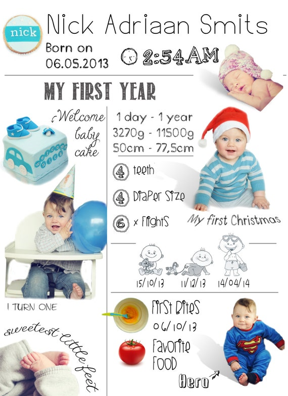 sale infographic baby first year infographic first year. Black Bedroom Furniture Sets. Home Design Ideas