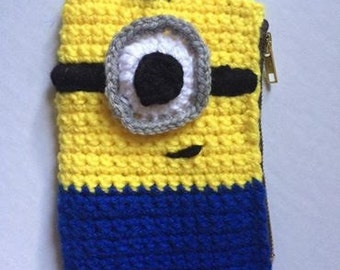 Unique crochet pencil case related items | Etsy