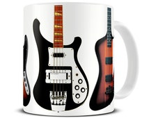 unique bass guitar related items etsy. Black Bedroom Furniture Sets. Home Design Ideas