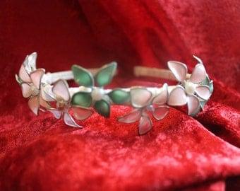 Wire Flower Headband