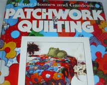 Patchwork & Quilting Better Homes and Garden from 1977 Patchwork Applique Heirloom Designs