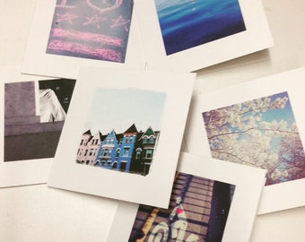 Complete Set of 6 DC Greeting Cards by CapitolSnail